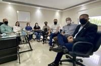 Câmara recebe secretária de Desenvolvimento Social, Mulher, Trabalho e Promoção à Cidadania, Alba Bezerra, e comissário Cosmo Silva