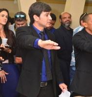 Denis Alves é eleito presidente da Câmara Municipal