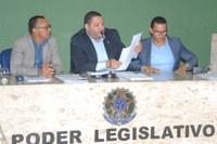 Legislativo Municipal aprova três projetos de autoria do Executivo