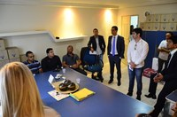 Presidente da Câmara se reúne com representantes dos professores e agentes de saúde