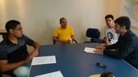 Presidente se reúne com representantes do Movimento Estudantil