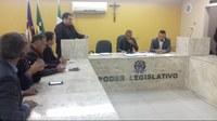 Primeira sessão do mês de maio discute segurança e transporte público
