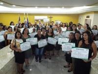 Professores e gestores recebem Título de Cidadão Benemérito