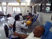 Semana Municipal de Mobilização em Favor da Vida arrecada 126 bolsas de sangue