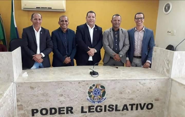 Vereador Cícero Pinheiro é eleito novo presidente da Câmara Municipal de São Lourenço da Mata