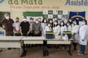 Vereadores acompanham início da vacinação contra Covid-19 em São Lourenço da Mata