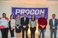 Vereadores participam da inauguração da Agência do Procon no município
