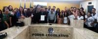 Vereadores participam de Sessão Unificada de Grêmios