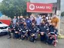 Vereadores prestigiam inauguração da nova base do SAMU