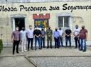 Vereadores se reúnem com comandante do 20º BPM para discutir sobre segurança pública